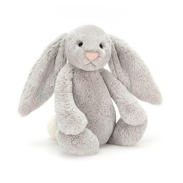 Jellycat Kuscheltier Bashful Silver Bunny 36 cm (large)