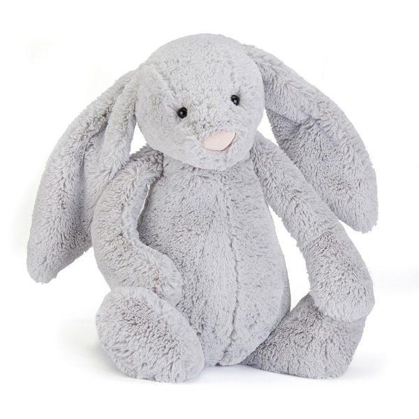 Jellycat Kuscheltier Bashful Silver Bunny 67 cm (really big)