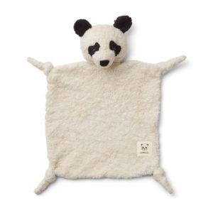 "Liewood Kuscheltuch Lotte ""Panda creme de la creme"""