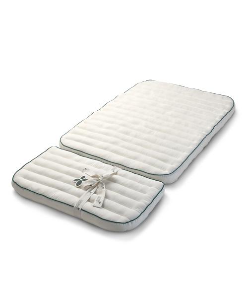 Cocoon Bio Kapok-Matratzenerweiterung für das Sebra, Baby- & Juniorbett 72×44cm