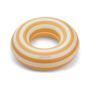 "Liewood Baloo Schwimmring ""Stripe- Yellow mellow : creme"""