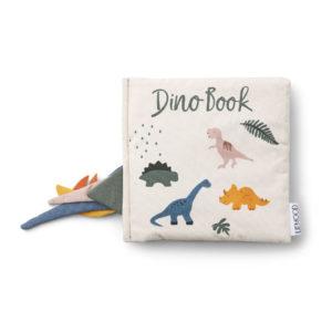 """Liewood Dennis Stoffbuch """"Dino"""" Titel"""