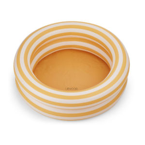"Liewood Leonore Planschbecken : Pool ""Stripe- Yellow mellow : creme"""