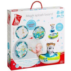 Sophie la girafe® Magisches Spritzbild Karton