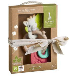 Sophie la girafe® So'Pure Natur Beißring und Rassel