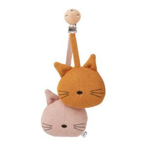 """Liewood Rosa Kinderwagen Spielzeug """"Cat rose"""""""