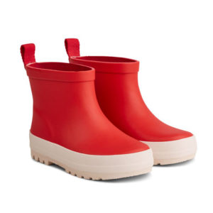 "Liewood Tekla Regenstiefel ""Apple red : creme"", Gr. 22-35"