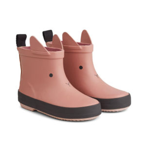 "Liewood Tobi Regenstiefel ""Rabbit dark rose"""