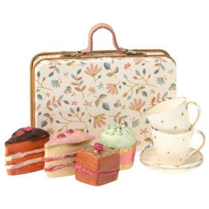 Maileg Kuchen-Set im Metallkoffer