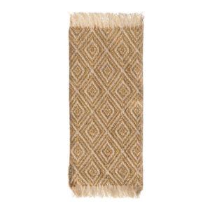 Maileg Miniatur-Teppich, senffarben, 22x9cm