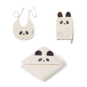 "Liewood Adele Baby Geschenkset ""Panda creme"""