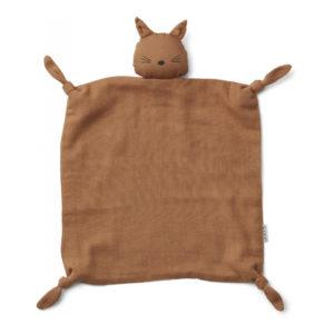 """Liewood Agnete Kuscheltuch """"Cat terracotta"""""""
