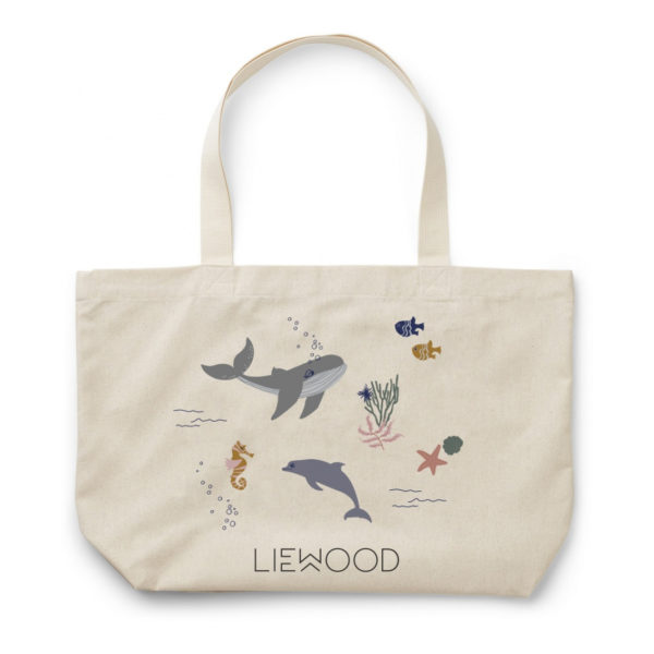 "Liewood GAW Stofftasche ""Sea creature mix"", groß"