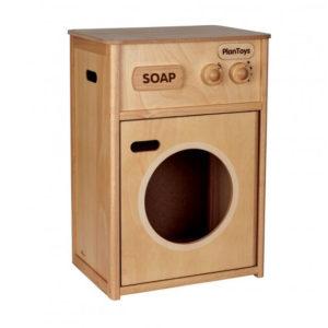 """PlanToys Waschmaschine """"natur"""" aus Öko-Holz"""