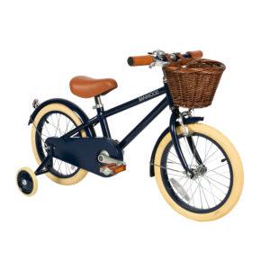 Banwood 16 Zoll Retro Kinder Fahrrad Classic Navy Blue – dunkelblau 06