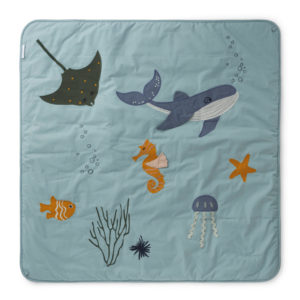 "Liewood Activity-Decke Glenn ""Sea creature mix"""