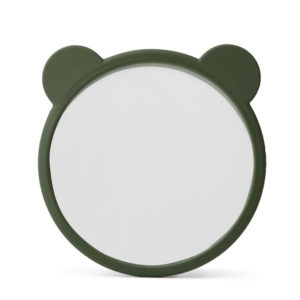 "Liewood Heidi Activity-Spiegel ""Hunter green"", ø17cm, Silikon"