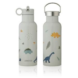 "Liewood Neo Trinkflasche ""Dino dove blue mix"", 500ml"