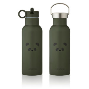 "Liewood Neo Trinkflasche ""Panda hunter green"", 500ml"
