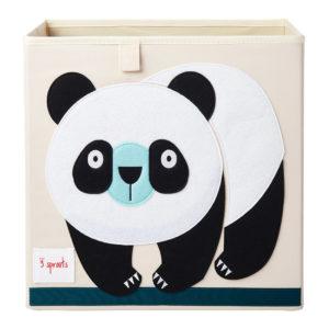 3 sprouts Aufbewahrungsbox Panda, 33cm