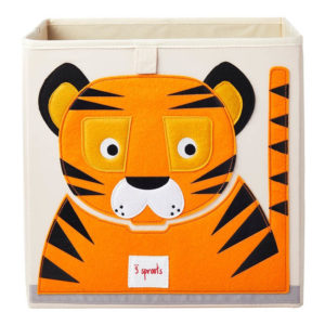 3 sprouts Aufbewahrungsbox Tiger, 33cm
