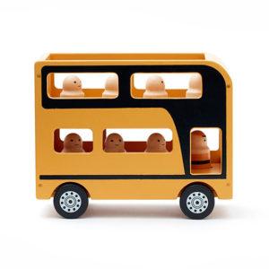 Kids Concept Doppeldeckerbus Aiden von der Seite
