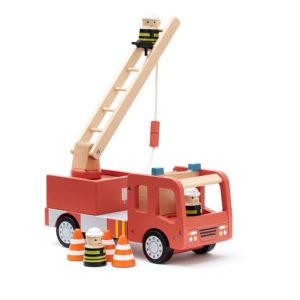 Kids Concept Feuerwehrauto Aiden, 16x30x11cm
