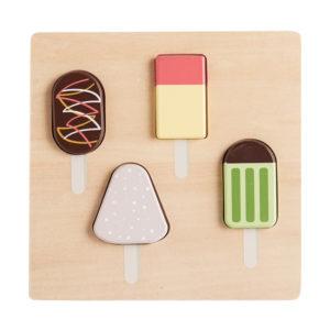 Kids Concept Puzzle Eis Bistro aus Holz