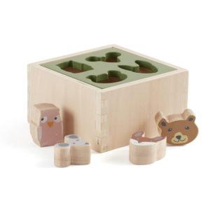 Kids Concept Steckspiel Edvin aus Holz