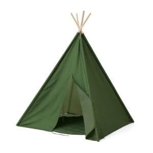Kids Concept Tipi Zelt, grün, 160cm