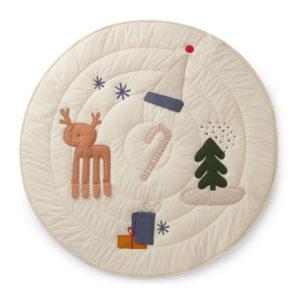 """Liewood Activity-Decke Gitta """"Holiday Mix"""", Bio-Baumwolle, ø110cm"""