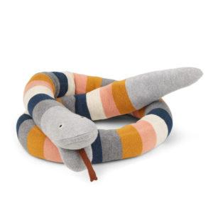 """Liewood Fillippa gestrickte Bettschlange """"stripe : multi"""", 150cm"""