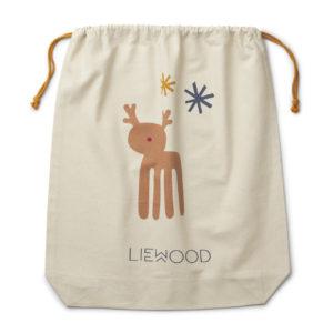 "Liewood Stoffbeutel ""Holiday mix"" Big (61x52cm) Geschenkverpackung"