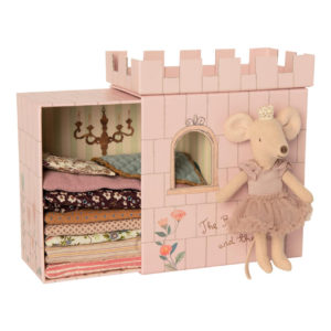 """Maileg Big Sister Maus """"Prinzessin auf der Erbse"""", rosa"""
