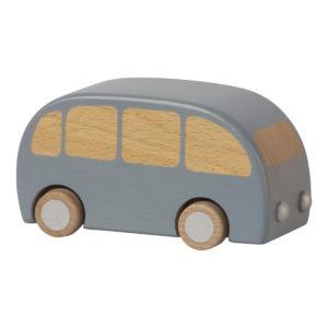 Maileg Holzauto Bus blau H6,5cm