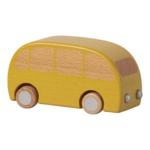 Maileg Holzauto Bus gelb H6,5cm