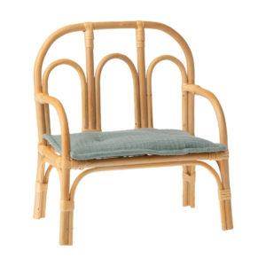 Maileg Sitzbank aus Ratan, Medium, H24,5cm