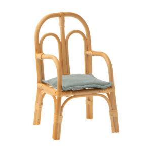 Maileg Stuhl aus Ratan, Medium, H24,5cm