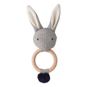 "Liewood Aria Rassel Hase ""Rabbit grey"" 01"
