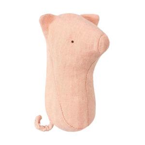 Maileg Noah's Friends Baby-Rassel Schweinchen, H12 cm