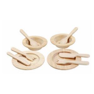 PlanToys Geschirr-Set aus Holz