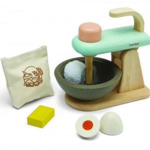 PlanToys Mixer-Set aus Holz 01