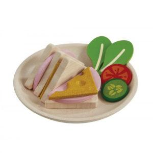 PlanToys Sandwich-Set aus Holz