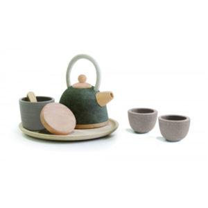 PlanToys asiatisches Tee-Set aus Holz