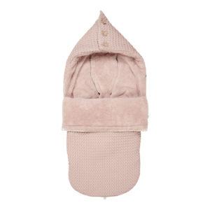 """koeka Buggy Fußsack Oslo """"grey pink : grey pink"""" für 3- und 5-Punktgurt"""
