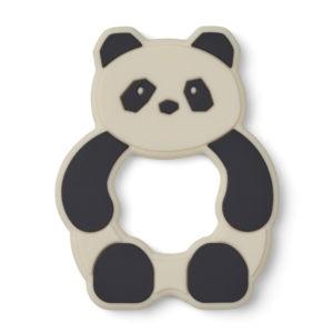 """Liewood Gerda Beißring """"Panda creme de la creme"""", Silikon"""