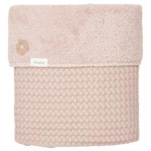 koeka Babydecke Oslo grey pink : grey pink, 75x100cm