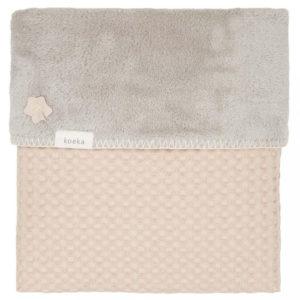 koeka Babydecke Oslo sand : misty grey, 75x100cm
