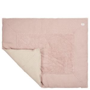 "koeka Krabbeldecke Amsterdam ""grey pink : sand"" 80x100cm"