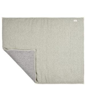 "koeka Krabbeldecke Vigo ""shadow green : sparkle grey"", 75x95cm"